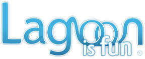 Lagoon Is Fun Logo